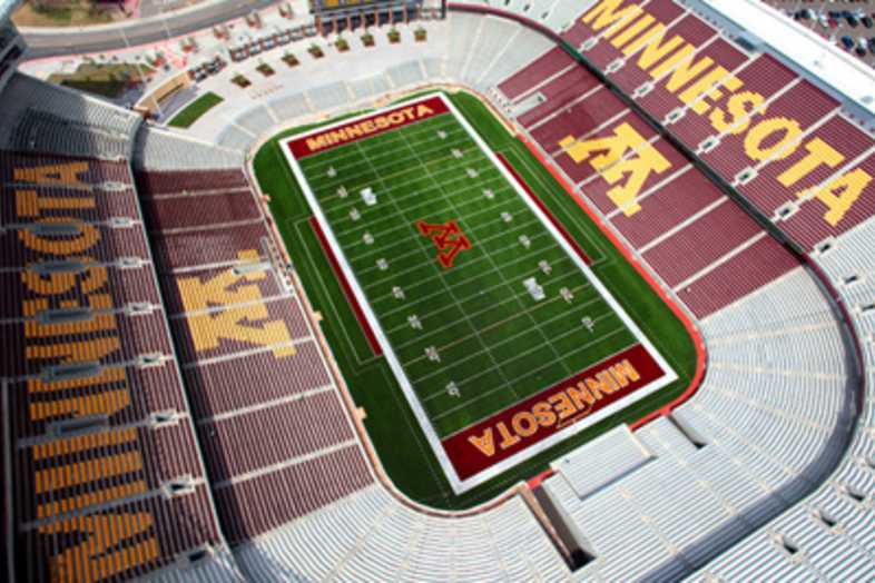Football Bleachers - Univeristy of Minnesota