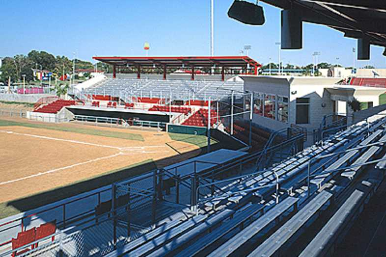 Baseball Bleachers - University of Houston