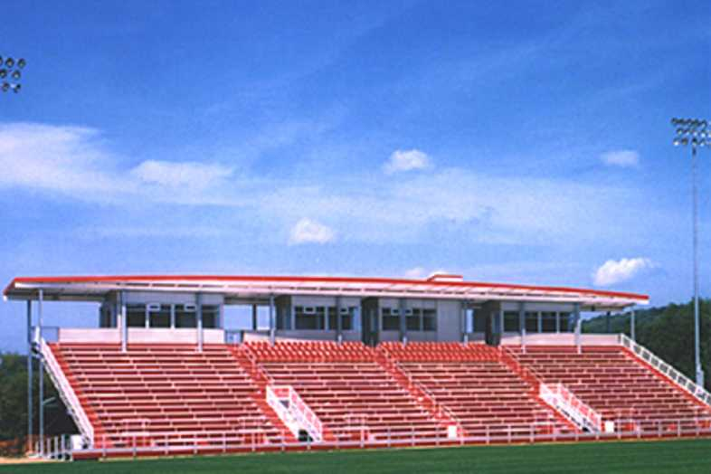 Football Bleachers - University of Arkansas