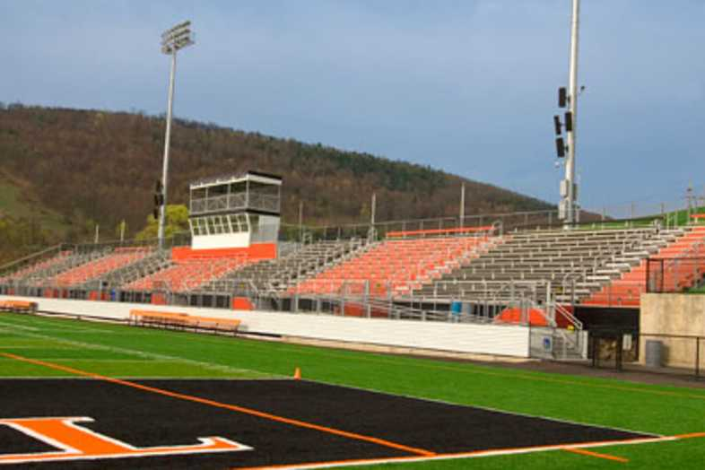 Football Bleachers - Towanda Area School District