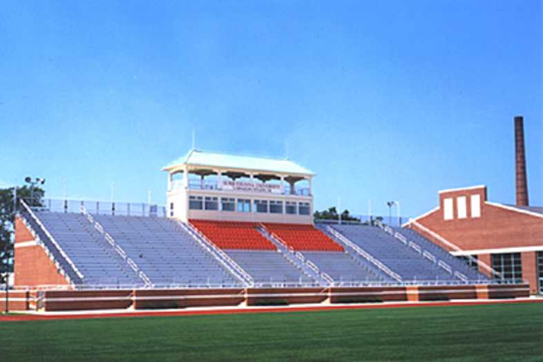 Football Bleachers - Susquehanna University
