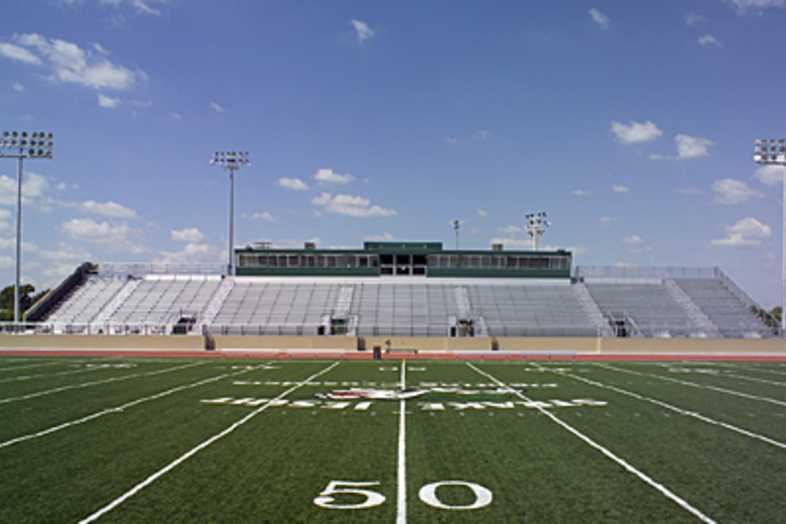 Football Bleachers - Strake Jesuit School