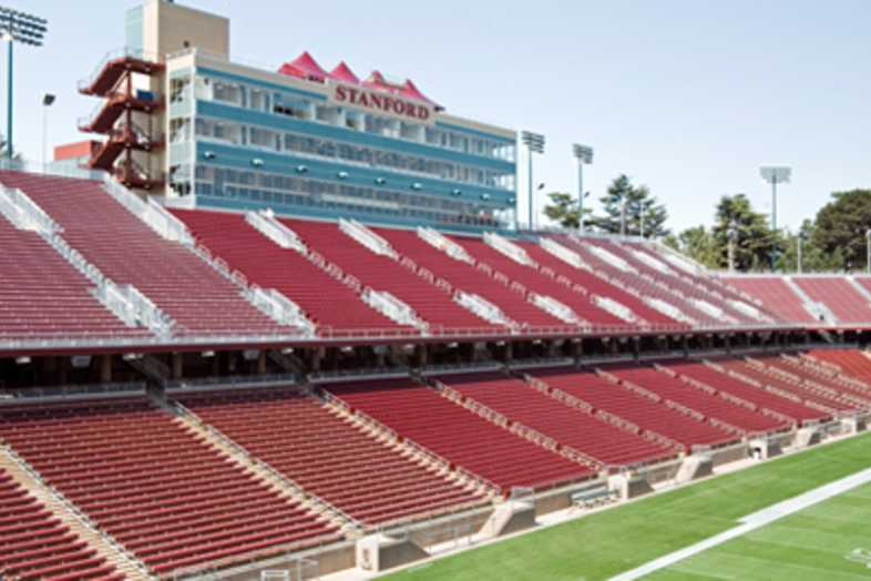 Football Bleachers - Stanford Univeristy
