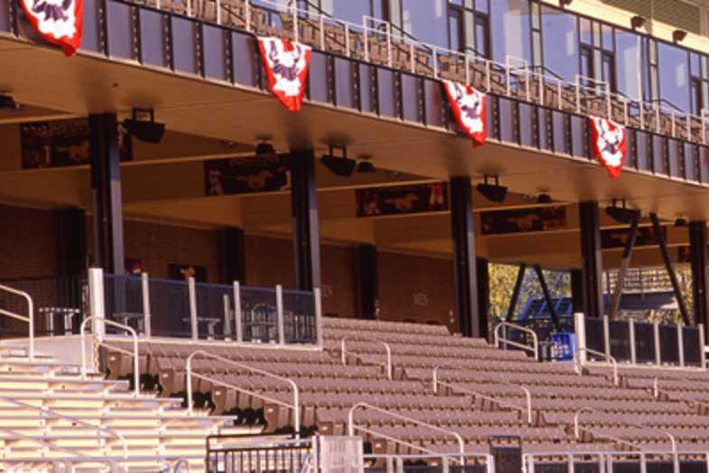 Football Bleachers - Southwest Minnesota State University