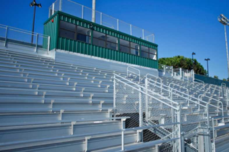 Football Bleachers - South High School (Torrance, CA)