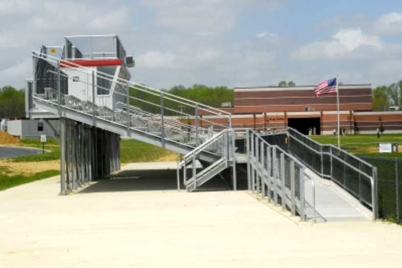Football Bleachers - Red Lion Christian Academy
