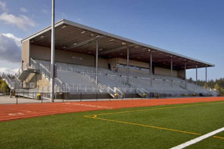 Football Bleachers - Oak Harbor School District