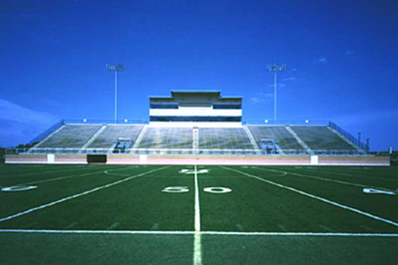 Football Bleachers - Northside ISD