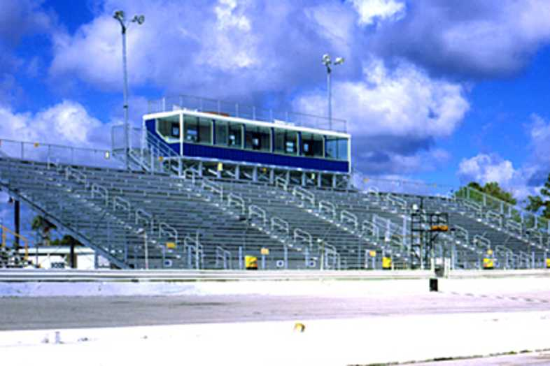 Bleachers - New Smyrna Speedway