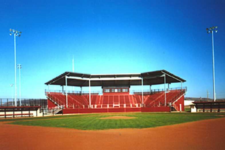 Baseball Bleachers - Mineral Wells ISD