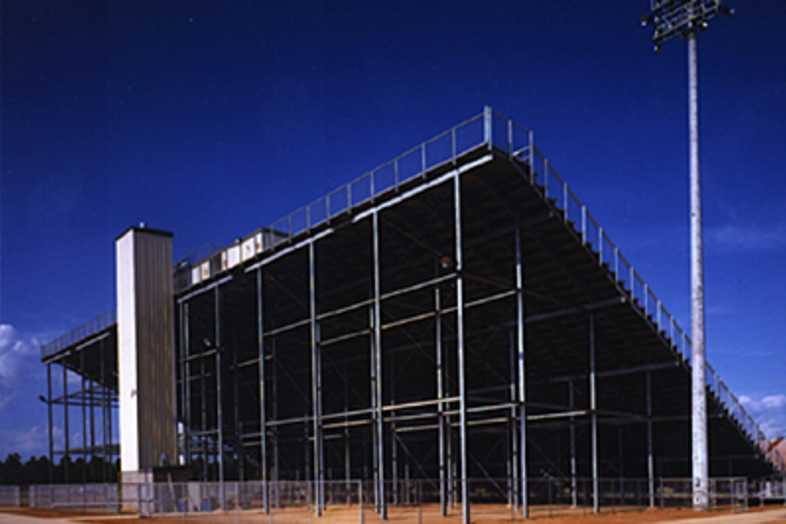Football Bleachers - Magnolia ISD