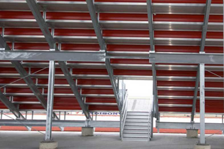 Football Bleachers - Madisonville ISD