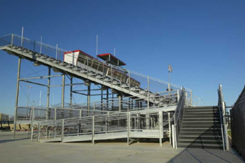 Football Bleachers - Lincoln Christian School