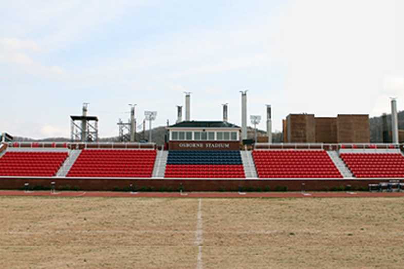 Soccer Bleachers - Liberty University