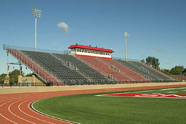 Football Bleachers - Kentwood Public Schools