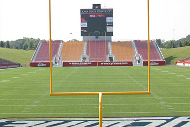 Football Bleachers - Iowa State University