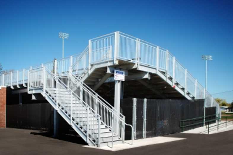 Baseball Bleachers - Idaho Falls Melaleuca Field