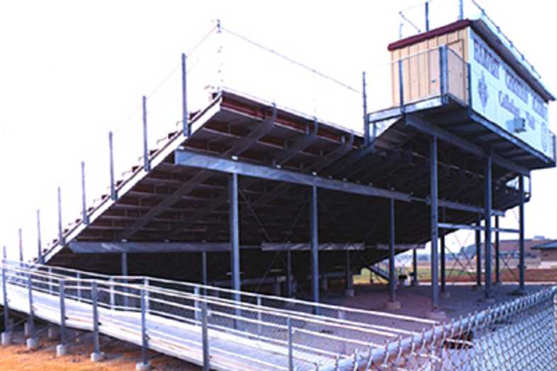 Football Bleachers - Harvest Christian Academy