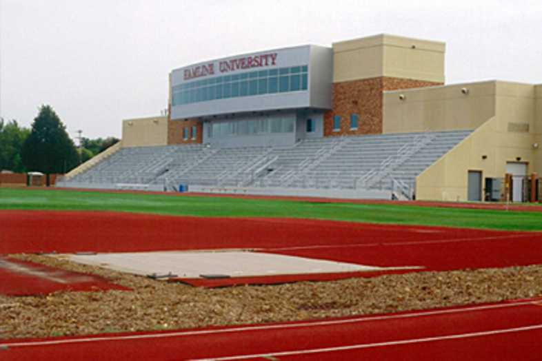 Football Bleachers - Hamline University