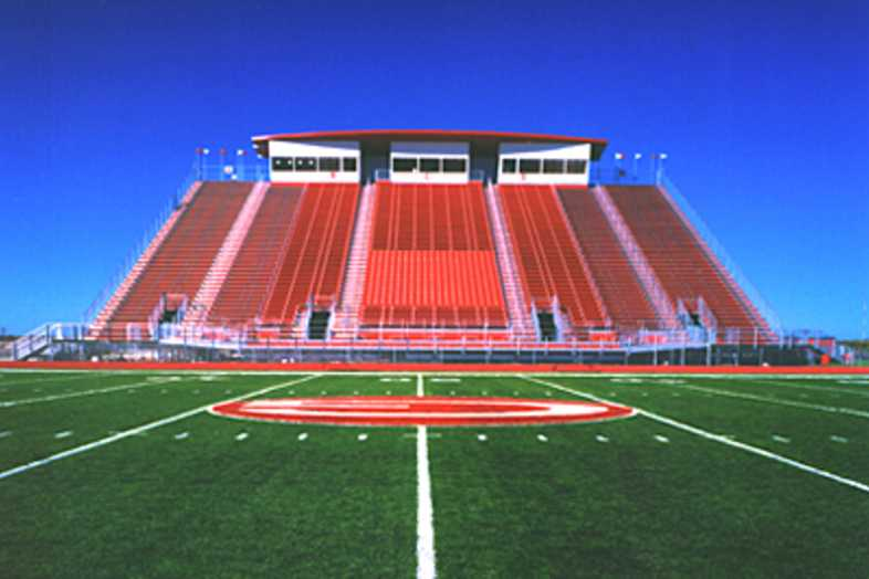 Football Bleachers - Greenville ISD