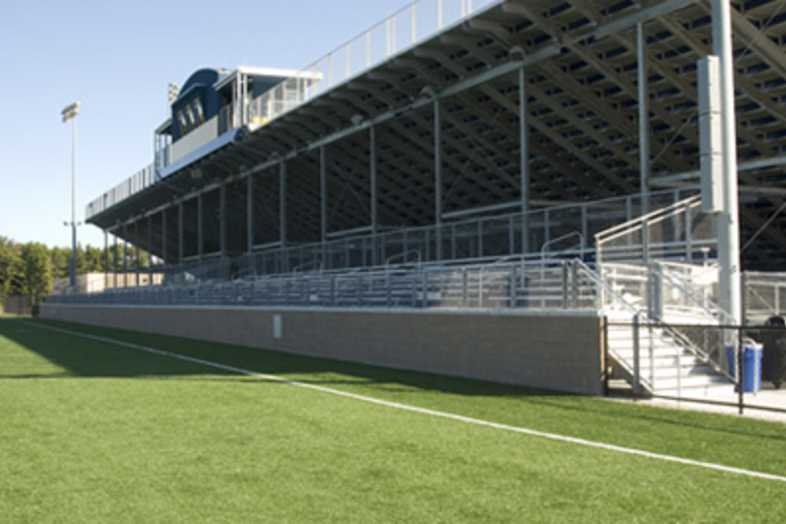Football Bleachers - Grand Haven Public Schools