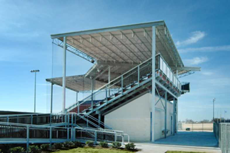Softball Bleachers - Graham ISD