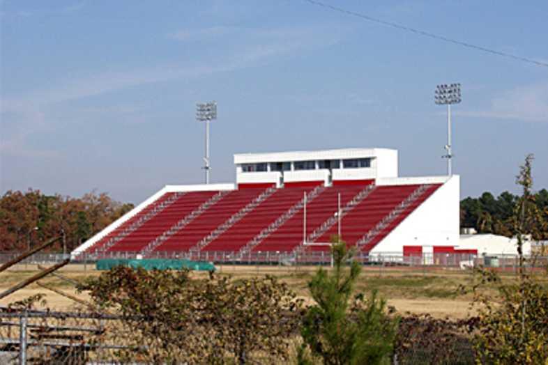 Football Bleachers - Fairview High School