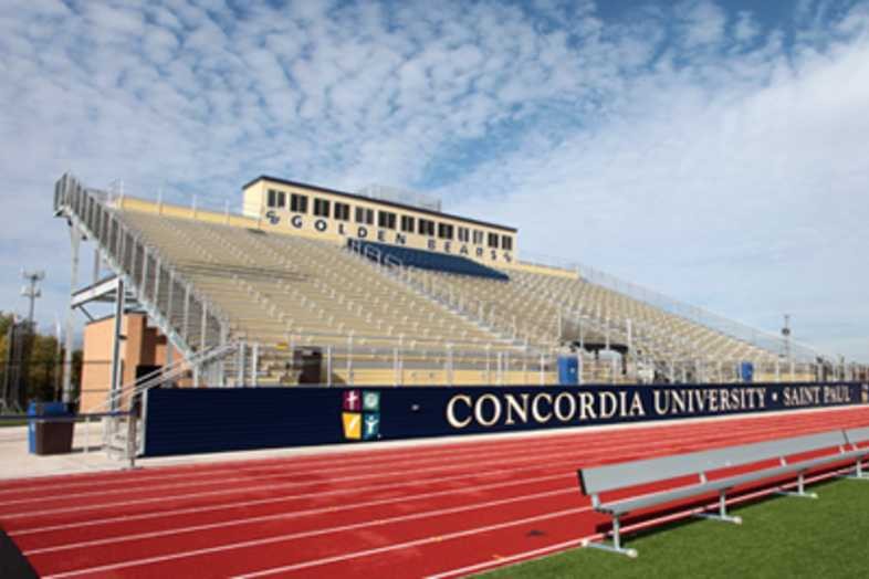 Football Bleachers - Concordia University