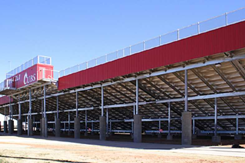 Football Bleachers - Brownsfield ISD