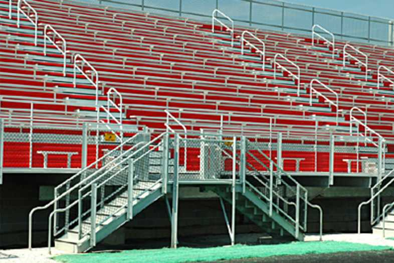 Football Bleachers - Bolingbrook High School