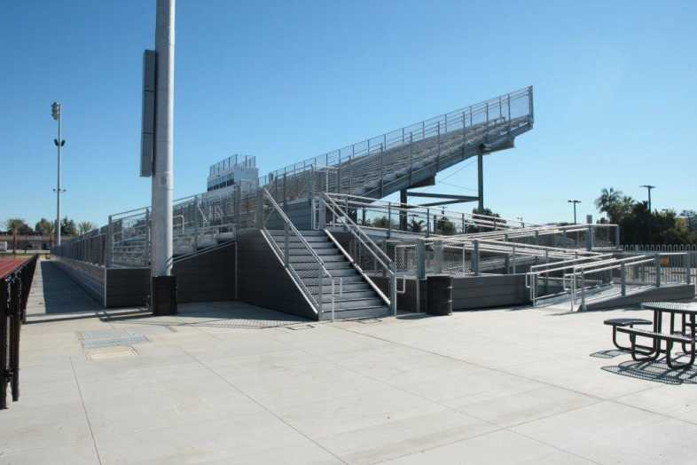 Covina-Valley Unified School District - Football Bleachers - 2