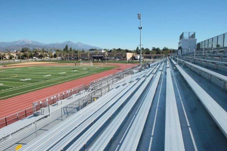 Covina-Valley Unified School District - Football Bleachers - 4
