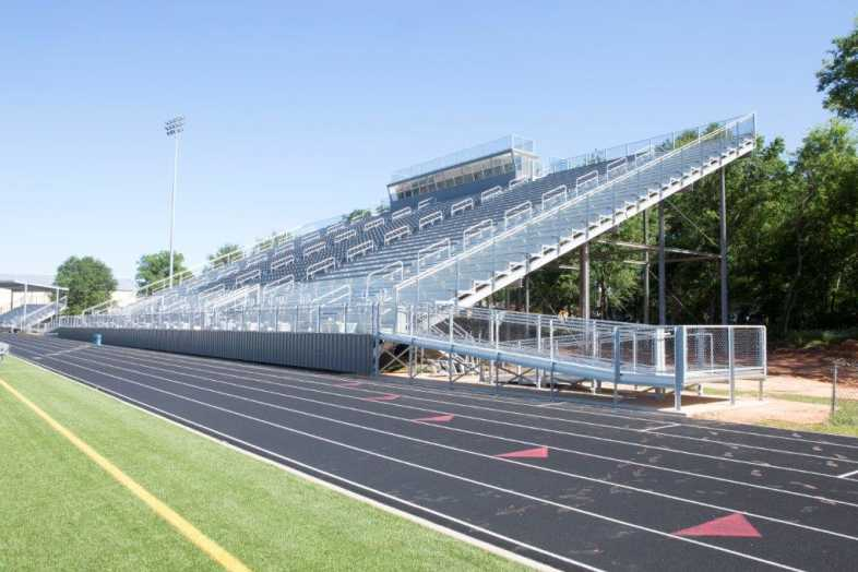 PITTSBURG INDEPENDENT SCHOOL DISTRICT - FOOTBALL BLEACHERS - 2