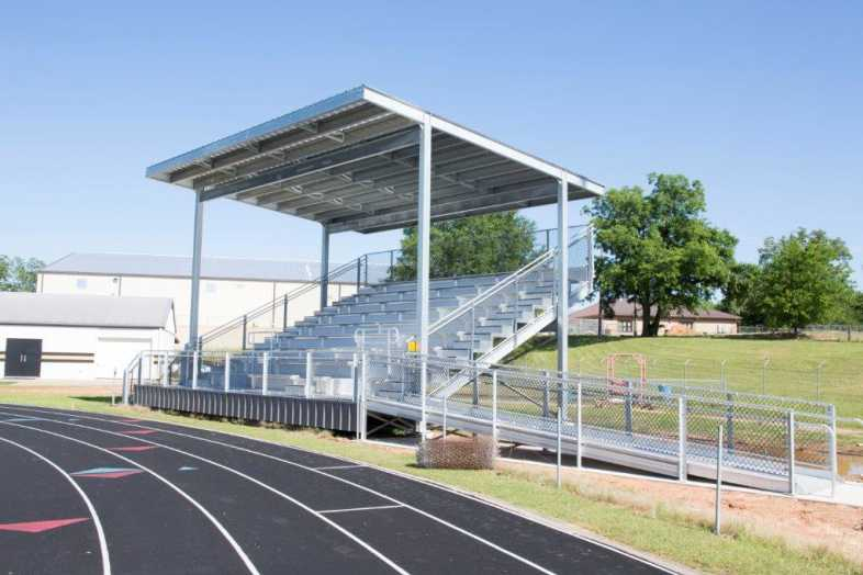 PITTSBURG INDEPENDENT SCHOOL DISTRICT - BAND BLEACHERS - 3