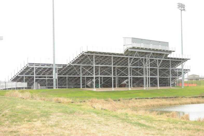 INDIANOLA COMMUNITY SCHOOL DISTRICT - Football Bleachers - 2