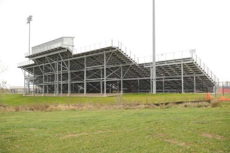 INDIANOLA COMMUNITY SCHOOL DISTRICT - Football Bleachers - 3