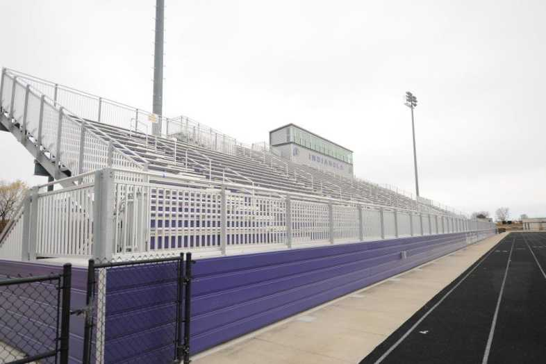 INDIANOLA COMMUNITY SCHOOL DISTRICT - Football Bleachers - 5