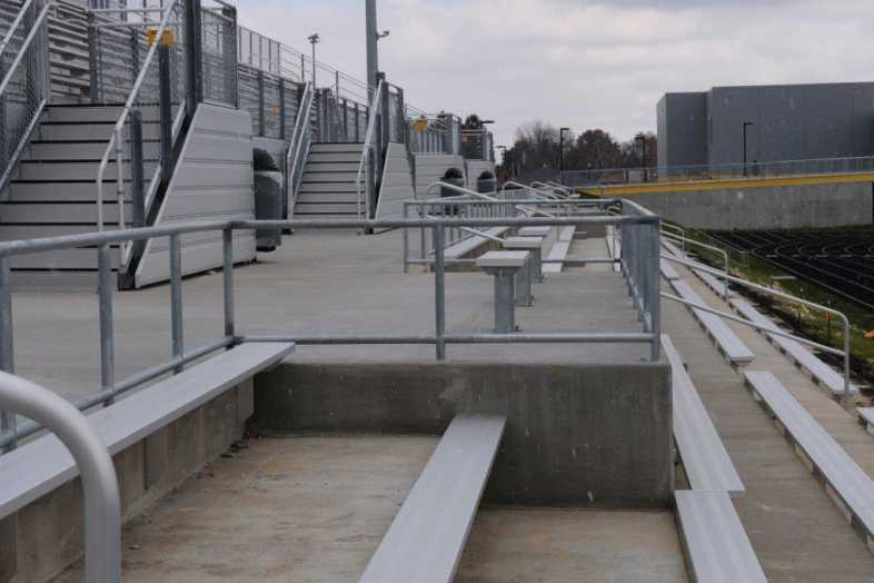 Galesburg - Football Bleachers - 3