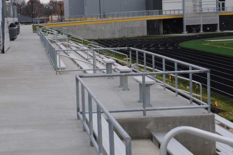 Galesburg - Football Bleachers - 5