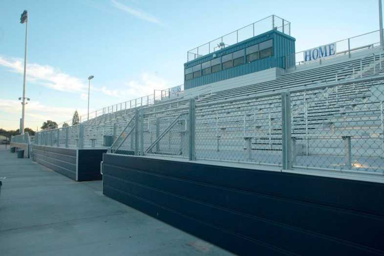 Santa Ana Unified School District - Football Bleachers - 6