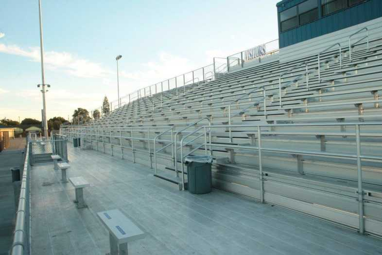 Santa Ana Unified School District - Football Bleachers - 7