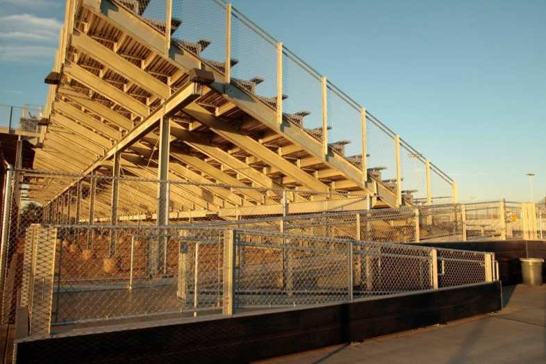 Santa Ana Unified School District - Football Bleachers - 9