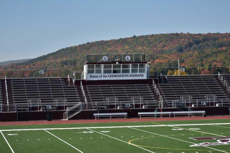 Lehighton Area School District - Football Field - Built by Southern Bleacher - 2
