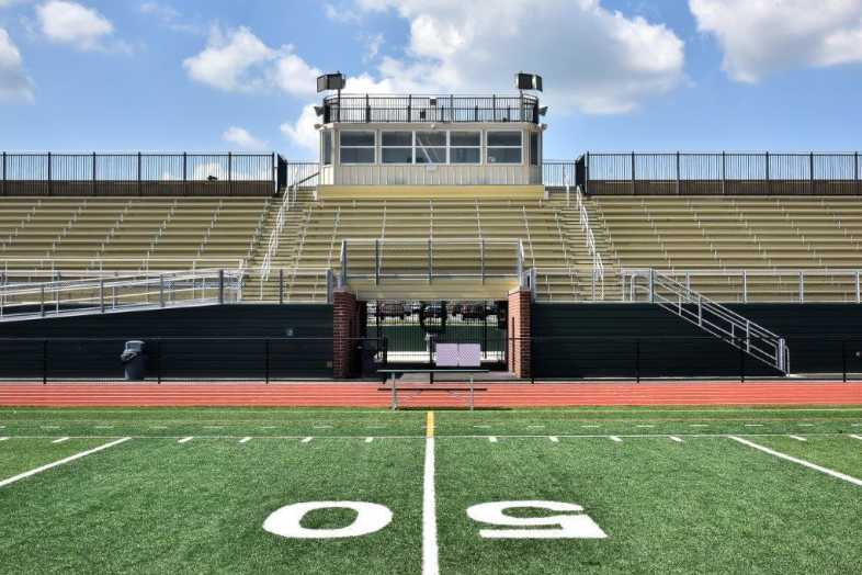 Donegal School District - Football Bleachers - Built by Southern Bleacher - 3