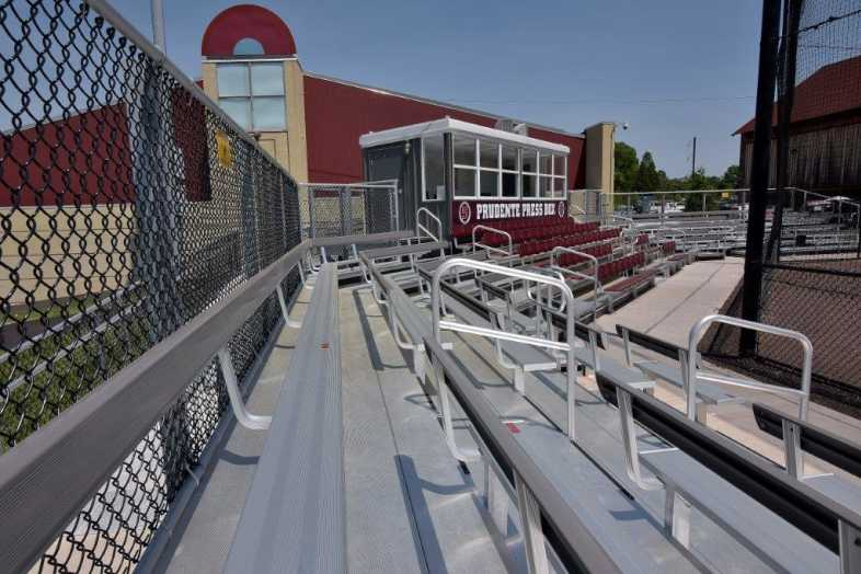 SWARTHMORE COLLEGE - BASEBALL BLEACHERS - 8