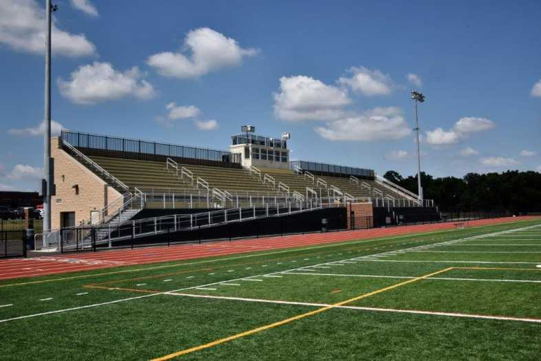Donegal School District - Football Bleachers - Built by Southern Bleacher - 4