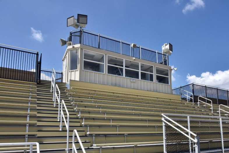 Donegal School District - Football Bleachers - Built by Southern Bleacher - 7