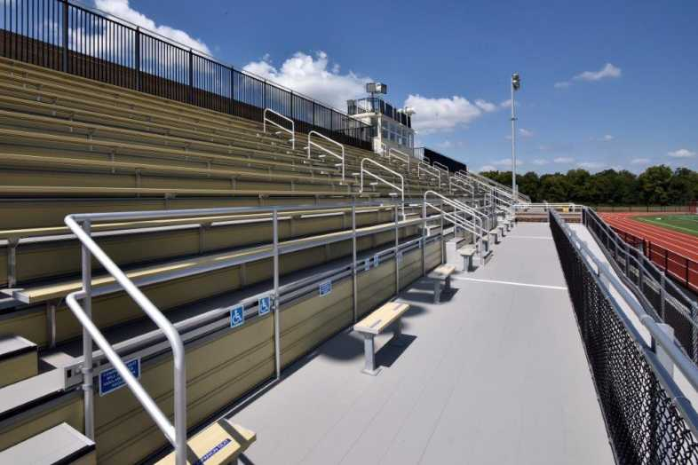 Donegal School District - Football Bleachers - Built by Southern Bleacher - 8