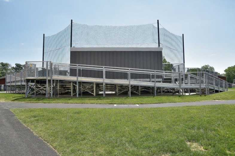 SWARTHMORE COLLEGE - BASEBALL BLEACHERS - 3