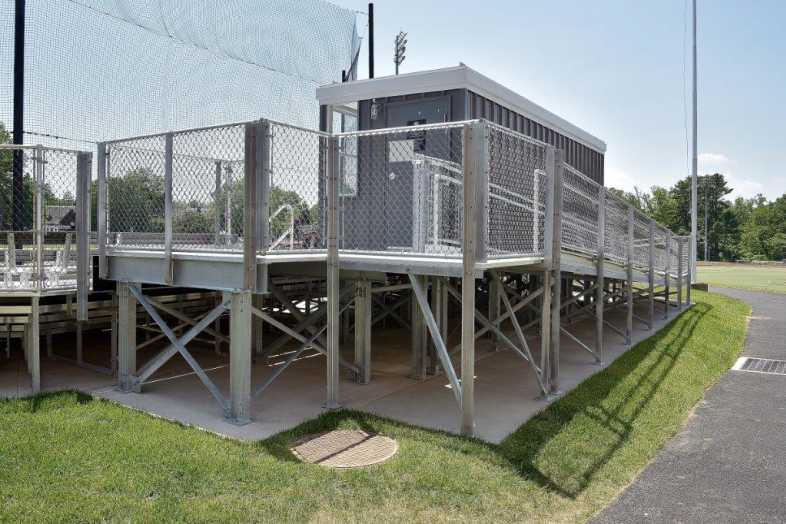 SWARTHMORE COLLEGE - BASEBALL BLEACHERS - 7